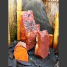 Fontaine Set Triolithes grès rouge 50cm