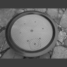 Grille rond pour couvercle en fibre de verre 110cm