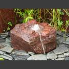 Fontaine de jardin complet Lave avec creux 25cm