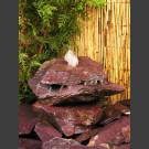 Cascade fontaine de jardin complet violet 3 pièces