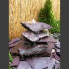 Cascade fontaine de jardin complet violet 5 pièces