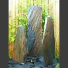 Fontaine Triolithes schiste gris-brun 120cm