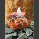 Pierre à fontaine intérieure cascade grès