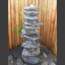 Fontaine complet Cairn en Bloc erratique 10 pièces