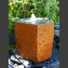 Pierre à fontaine de jardin Basalte avec creux 50cm