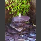 Cascade á fontaine de jardin violet 5 pièces