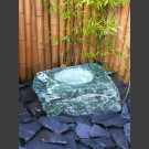 Fontaine de jardin Laponie vert avec creux
