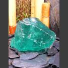 Pierre à fontaine verre vert 25cm