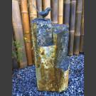 Oiseau chanteur Bronze sur Basalte