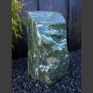 Bloc erratique de  Marbre vert poli 125kg
