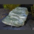 Fontaine set Cascade Cours d'eau en Marbre vert 290kg