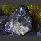 Fontaine set Cascade Cours d'eau en Marbre noir-rouge-vert 490kg