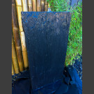 Fontaine set complet Mur d'eau de schiste noir 100cm