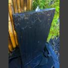 Mur d'eau de schiste noir 100cm