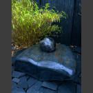 Fontaine Schiste poli avec rotative boule en marbre