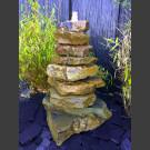 Cascade fontaine de jardin complet grès beige 85cm