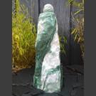 Monolith Fontaine Rocher Laponie vert avec rotative boule en Laponie vert 12cm