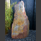 Monolith Schiste rouge-coloré 122cm de haut