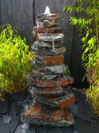 Kaskaden Brunnen roter Sandstein 10fach 1