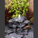 Bronsteen Cascade grijs zwart leisteen 5 delige
