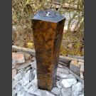 Compleetset fontein Basaltzuile gepolijste Top 100cm
