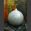 Bronsteen Bal van grijs Graniet geslepen 40cm