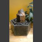 Indoor Fontein Set Basalt in hexagonaal Granieten Bak