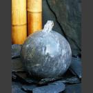 Bronsteen Bal van Blauwsteen geslepen 20cm