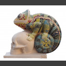 """""""De triomf van het leven over de dood"""" beeldhouwen in steen Sören Ernst"""