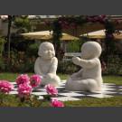 """Sculptuur """"De som van alle mogelijkheden"""" van Steff Bauer"""