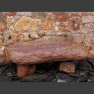 Flintstone bankje van leisteen