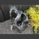Marmer showstone sculptur zwart-wit 125cm