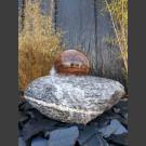 Maggia Fontein met roterende graniet bal
