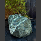 Fontaine rocher  Serpentin groen ca.65kg