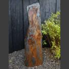 Monoliet van grijs-bruin Leisteen 141cm hoog