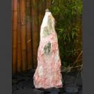 Bronsteen Monoliet wit roze Marmer 75cm