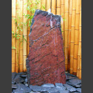 Compleetset fontein rood-zwart leisteen 95cm