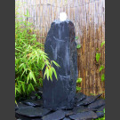 Compleetset fontein grijs zwart leisteen 75cm