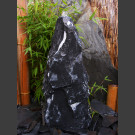 Bronsteen Monoliet marmer zwart-wit 65cm