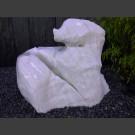 Aspromonte Marbre Zwerfsteen wit 160kg