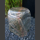 Natuursteen krukje zwerfsteen nordic graniet