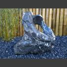 Marmer showstone sculptur zwart-wit 57cm