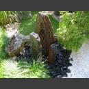 Triolithen Brunnen graubraun