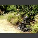 Cascade grijs zwart leisteen